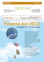 SCK Group Newsletter - Issue 2 / 2012