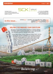 SCK Group Newsletter - Issue 1 / 2013
