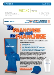 SCK Group Newsletter - Issue 3 / 2014
