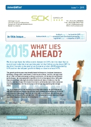SCK Group Newsletter - Issue 1 / 2015