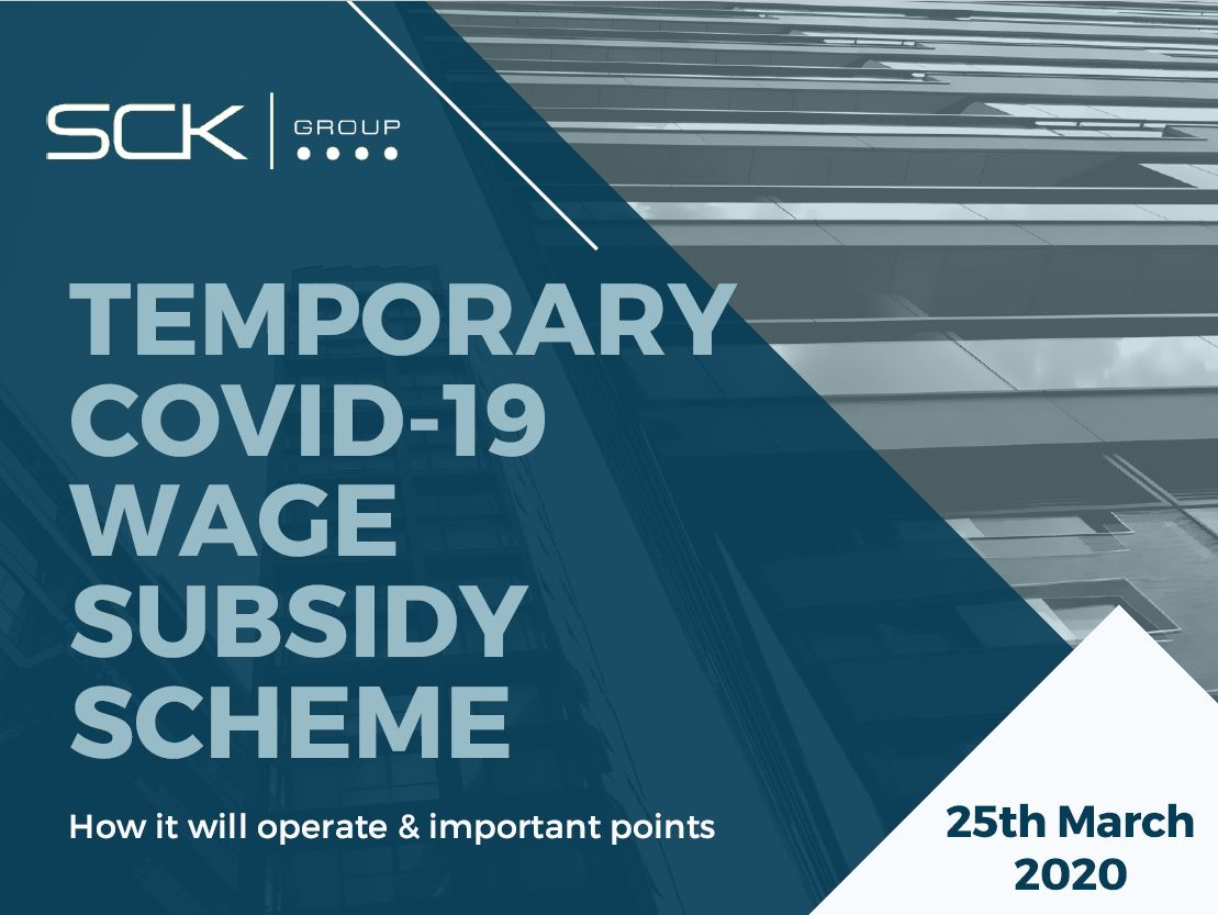 Temporary COVID-19 Wage Subsidy Scheme